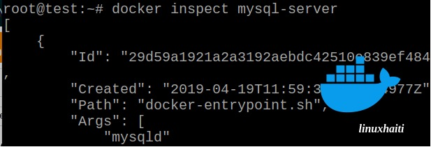 Docker – Déployer mysql server