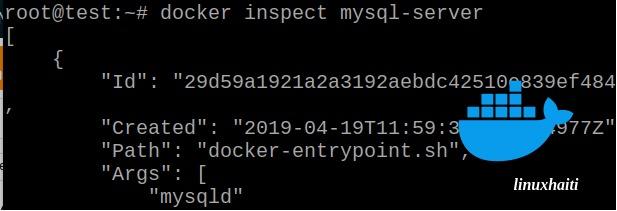 Docker – Déployer mysqlserver