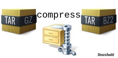 Archivez et Compressez vos fichiers avec tar, gzip etbzip2